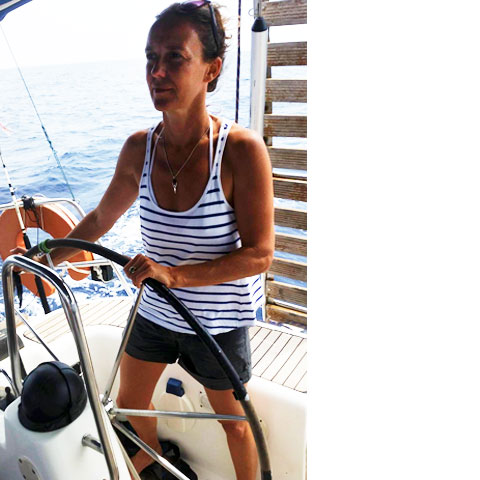 Cabin charter cruises and private cruises in Greece - Sail with Selin - Xelin Urzaiz