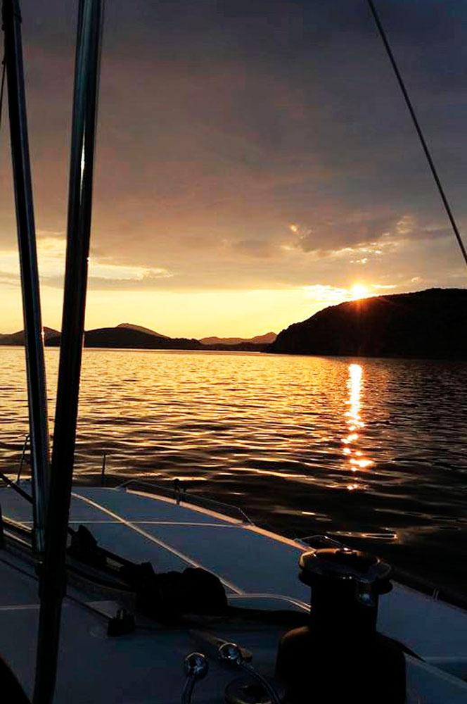 Naviguer avec Selin's Sail